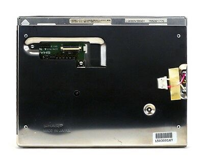 LQ080V3DG01, Sharp LCD panel. Nextran Extremo 7100 ATM, Ships from USA