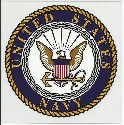United States Navy Decal - Outside Application