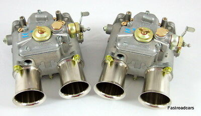 Weber 48 Dco 2/sp Pair New Carbs/ Carburettors 1963000700