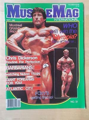 MUSCLEMAG bodybuilding muscle magazine/Mr Olympia FRANK ZANE 9-82