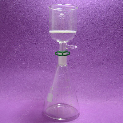 1000ML Filtration set[Erlenmeyer Flask+Filter Funnel(3#)],Lab Filter set