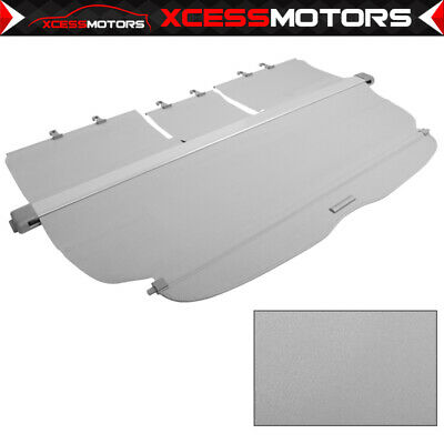 Fit 07-11 Honda CRV OE Style Retractable Gray Rear Cargo Security Trunk Cover