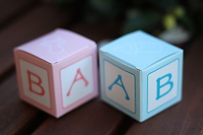 10pc Favour Box/ Gift Box  for Baby Shower/ Birthday Party/ Christening