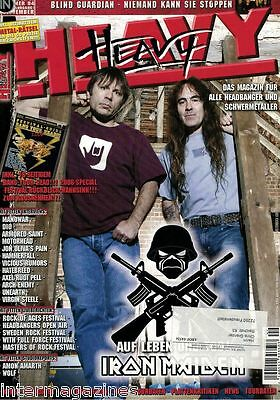Magazin Heavy 9/2006,Iron Maiden,Blind Guardian,Manowar,Dio,Arch Enemy,Motörhead