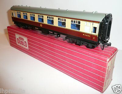 Hornby Dublo 4060 Br Wr 1St Open Corridor Coach Boxed Exc Cond
