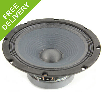 "QTX 8"" Professional Replacement Spare DJ PA Speaker Driver Component 200W"