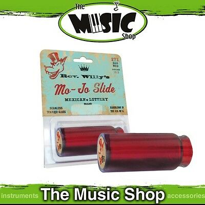 Brand New Jim Dunlop RWS11 Rev. Willy's Mojo Glass Guitar Slide - JRWS11