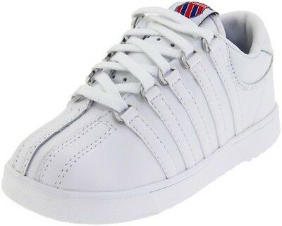 K Swiss Toddler Classic Infants All White Sneakers Girls & Boys Shoes Size 2-10
