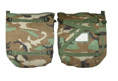 New U.S.G.I Molle II Military Large Radio Pouch Woodland Camo Bag Tote Pack US