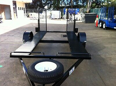 Multi Purpose 12X6 Trailer With Ramps Quads Bikes Buggys Golf Carts Go Karts