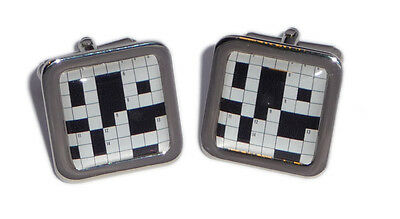 Crossword Puzzel Cufflinks