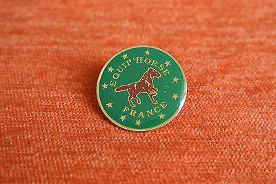 09742 Pin's Pins Equip Horse France Equipement Cheval Equitation