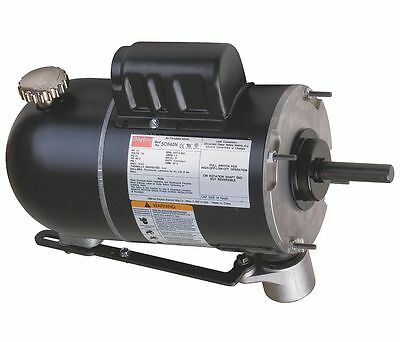 Oscillating Pedestal Fan Motor 2-Speed Motor 1/2 hp 1075 RPM 115V # 5C040