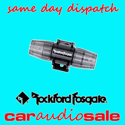 Rockford Fosgate Rffagu Inline Agu Fuse Holder Glass Fuse Holder 8 Or 4 Gauge