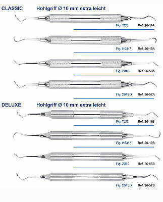 Scaler Taylor, Hygenist,  204S, 204SD, 10mm Hohlgriff