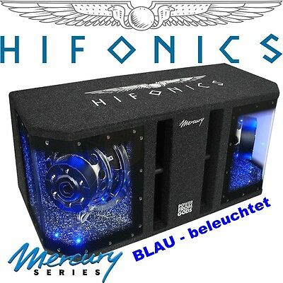 hifonics mercury mr10 dual subwoofer bandpass bassbox 1600. Black Bedroom Furniture Sets. Home Design Ideas