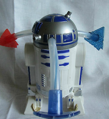 Rare Star Wars  R2-D2 Swirling Light Droid Toy
