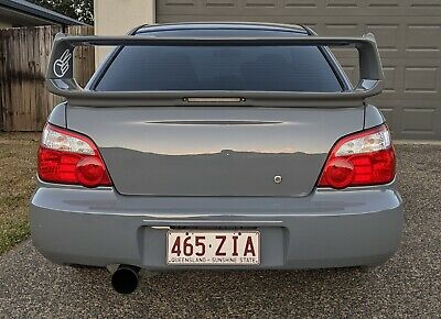 Ultrex Abs Rear Spoiler My01-07 For Subaru Impreza Gd Wrx Sti Rs - Sti Style
