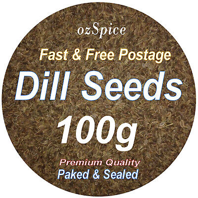 Dill Seeds 100g  Herbs & Spices - ozSpice