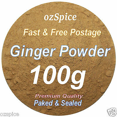 Ginger Powder 100g - Herbs Teas Chillies & Spices - ozSpice