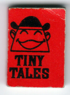 Mini-Books, Tiny Tales, Red, Chp Products, 1965