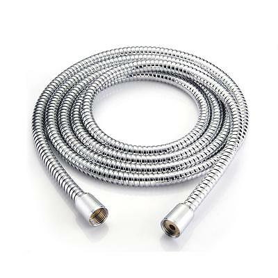 "3m 1/2"" Stainless Steel Bath Shower Head Flexible Hose Pipe"