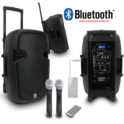 """Skytec 12"""" Mobile PA Speaker System + Mobile Phone Cable 500W Essex"""