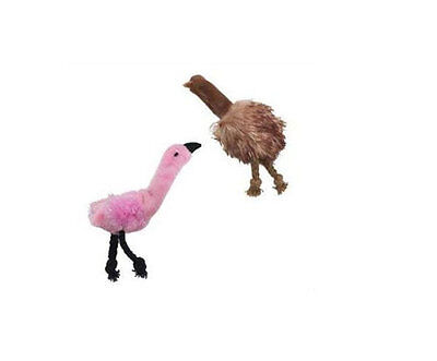 Skinneeez Cat Toys Exotic Flamingo or Ostrich With Catnip