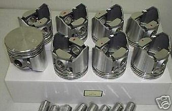 Oldsmobile pistons +  MOLY rings 371 1957 58  88 98 Super