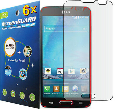 6x Clear LCD Screen Protector Guard Shield Film For T-Mobile LG Optimus L90 D415