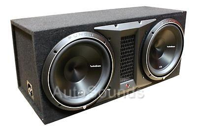 "Rockford Fosgate P3-2X10 2000 Watt Ported 10"" Dual Loaded Subwoofer Enclosure"