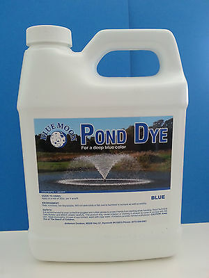 Pond Dye, Koi pond, fountain dye,Pond Algae controll,pond care 1 QT 33%