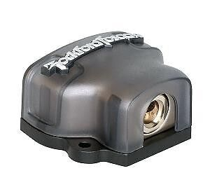 New Rockford Fosgate RFD4 4 / 8 AWG Distribution D Block 3 Output Terminals