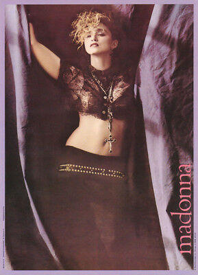 Poster : Music : Madonna - Sexy Black Lace  -  Free Shipping ! #15-347  Rc7 F