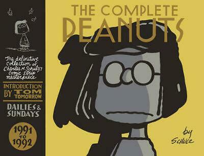The Complete Peanuts: 1991-1992 by Charles M. Schulz (English) Hardcover Book Fr