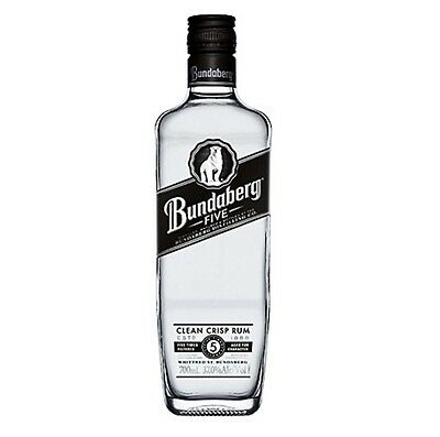 Bundaberg Five White Rum Limited Edition 700ml Numbered