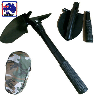 Folding Foldable Shovel Spade Emergency Garden Camping Hiking Tool TSHOV0101
