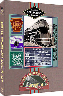 New Haven / Rock Island / PRR DVD + Xtras On DVD!!