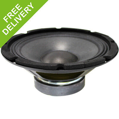 "Pro 100W 8"" 38mm Voice SP800 Chassis 4Ohm Speaker Cone Spare Replacement Driver"