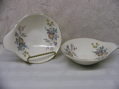 KNOWLES *KNO923 WINSLOW FLORAL,COUPE*2 LUGGED BOWLS