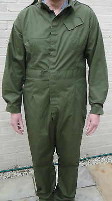 Overalls British Army Mechanic Boiler Suit Coverall Military Small - XXL Used