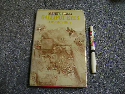 Antiquarische Bücher A Wiltshire Diary By Elspeth Huxley Hb Dj 1976 Gallipot Eyes