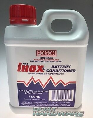 ** WATCH VIDEO ** Try this FIRST Inox MX2 Lead Acid Battery Conditioner 1 LITRE
