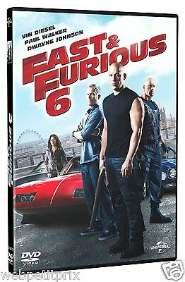 FAST and FURIOUS 6 en DVD - NEUF / Vin Diesel  /  Paul Walker