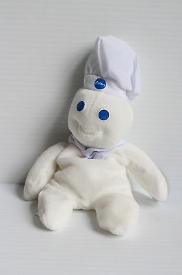PILLSBURY DOUGHBOY Stuffed toy, Pillsbury Doughboy beanbag toy, advertising toy