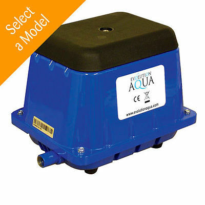 Evolution Aqua Airtech - Pond Air Pump - 75, 95, 130 & 150 LPM - Free P&P!