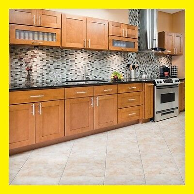 """90"""" Kitchen Cabinets Maple All Wood Newport Group Sale by LessCare KCNP22"""