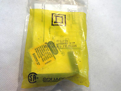 NEW IN FACTORY PACKAGE SQUARE D HPA-FYQ HANDLE LOCKOFF FOR Q2 AND FY FRAME