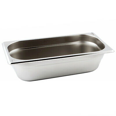 Genware Gastronorm Pan 1/3 One Third Size 65mm Deep