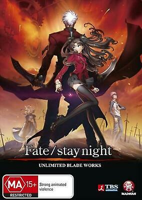 Fate / Stay Night - Unlimited Blade Works - DVD Region 4 Free Shipping!